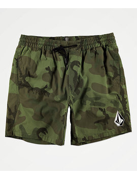 Volcom Deadly Stones Camo Shorts by Volcom