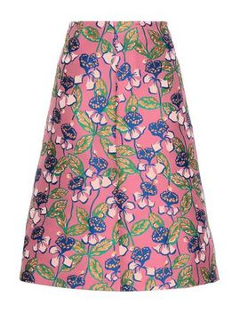 Floral Jacquard Skirt by Red Valentino