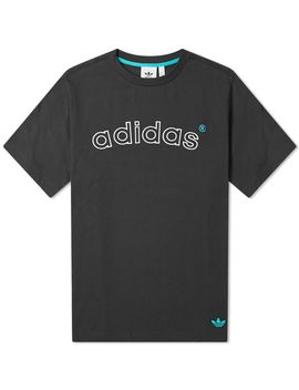 Adidas 90's Archive Arch Logo Tee by Adidas