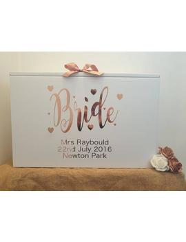 Wedding Dress Travel Box  Standard Airline Hand Luggage Size Personalised by Etsy