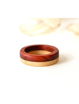 Wood Ring, Wood Band, Wood Men Ring, Wooden Jewelry, Natural Jewelry, Gift For Her, Wooden Rings by Etsy