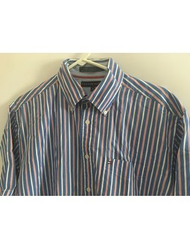 Tommmy Hilfiger Casual  Button Down Vintage Size Medium by Etsy