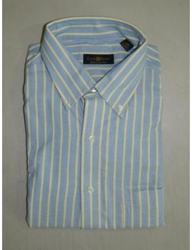 Club Room Men's Dress Shirt Regular Fit 100 Percents Cotton Nwt Size 16 34/35 A4179 by Club Room