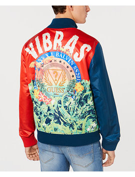 Men's X J Balvin   Colorblocked Jacket by Guess