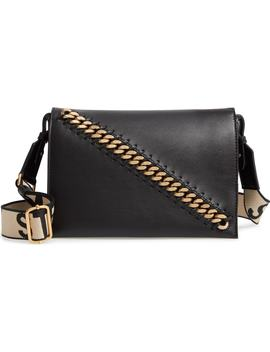 Logo Strap Faux Leather Crossbody Bag by Stella Mccartney