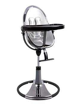 Bloom Fresco Chrome Contemporary Baby High Chair From New Born To 8 Years Frame Only (Titanium New... by Bloom