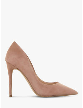 Steve Madden Daisie Sm Stiletto Heel Court Shoes, Taupe Suede by Steve Madden