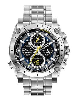 Men's Chronograph Precisionist Stainless Steel Bracelet Watch 47mm 96 B175 by Bulova