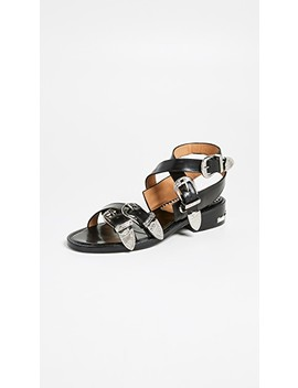 Buckle Strap Sandals by Toga Pulla