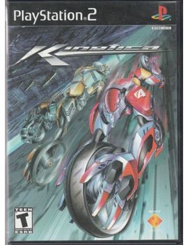 Kinetica (Sony Play Station 2, 2001) Complete Black Label Rare Ps2 Game  Complete by Ebay Seller