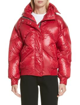 Dunlope Hooded Down Puffer Coat by Ienki Ienki