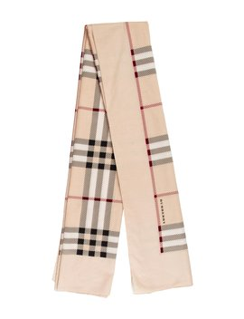 Woven House Check Scarf by Burberry London