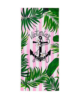 New! Vs Paradise Beach Towel by Victoria's Secret