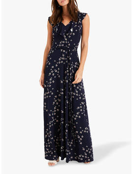 Phase Eight Destiny Maxi Dress, Navy/Multi by Phase Eight