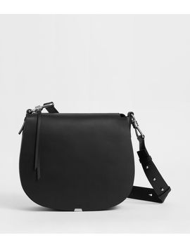 Captain Leather Round Shoulder Bag by Allsaints