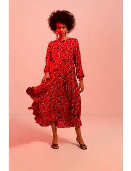 Floral Print Dress  Collection Timeless Woman Corner Shops by Zara