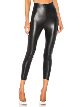 Perfect Control Faux Leather Capri by Commando