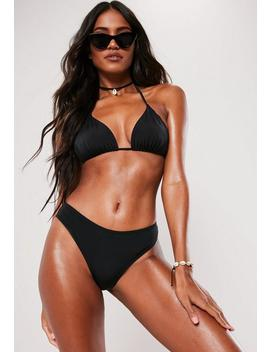 black-basic-hipster-bikini-bottoms by missguided