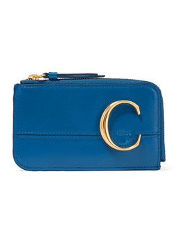 Chloé C Leather Cardholder by Chloé