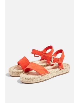 Dora Espadrille Flat Sandals by Topshop