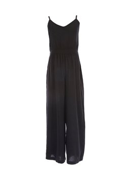 big-girls-7-16-v-neck-solid-jumpsuit by angie