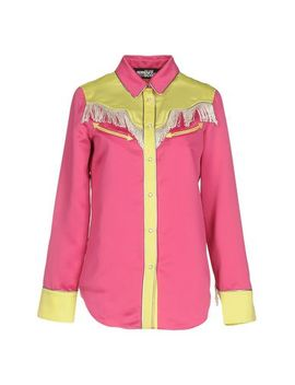 Jeremy Scott Patterned Shirts & Blouses   Shirts by Jeremy Scott