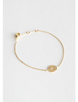 Sun Dial Pendant Bracelet by & Other Stories