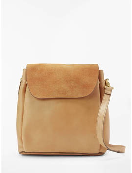 And/Or Isabella Leather Mini Backpack Shoulder Bag, Brown by And/Or