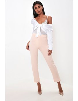 Pink Cigarette Trousers by I Saw It First