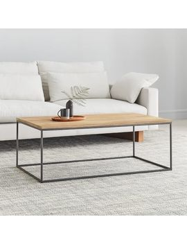 Streamline Coffee Table   Whitewashed by West Elm