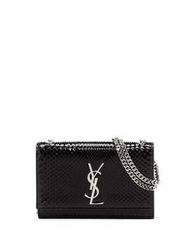 Kate Small Monogram Ysl Python Crossbody Bag by Saint Laurent