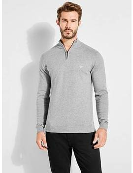 Eagles Zip Front Sweater by Guess