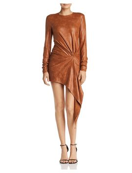 Haddasah Asymmetric Mini Dress by Ronny Kobo