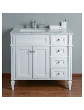 "Mauricio French 36"" Single Bathroom Vanity Set by Mistana"