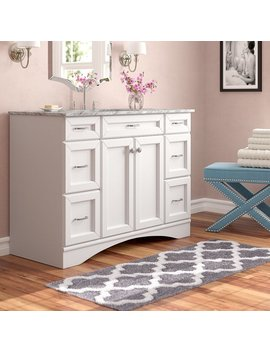 "Madi 48"" Single Vanity Set by Willa Arlo Interiors"