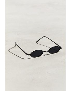 Narrow Mini Wire Oval Sunglasses by Urban Outfitters