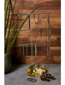 Pressed Buttercup Jewellery Stand by Urban Outfitters