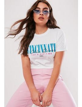 white-ohio-graphic-t-shirt by missguided