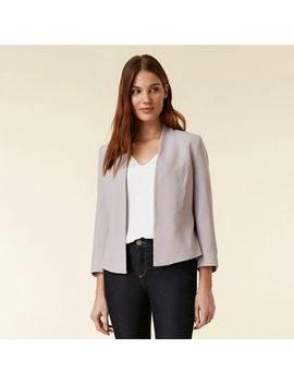 Wallis   Grey Cropped Blazer by Wallis