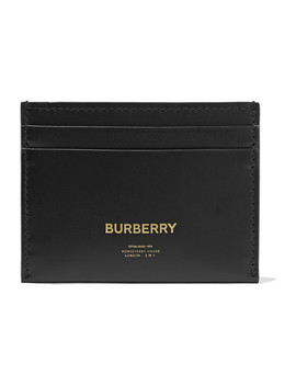 Leather Cardholder by Burberry