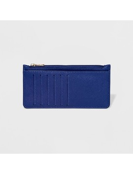 Women's Classic Pick Me Up Wallet   A New Day™ Plumbago Blue by A New Day