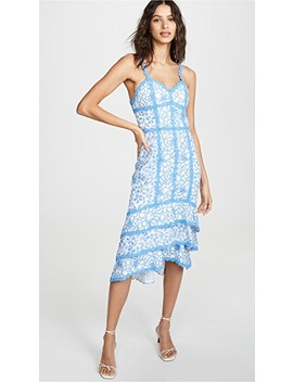 Diane Tiered High Low Dress by Alice + Olivia