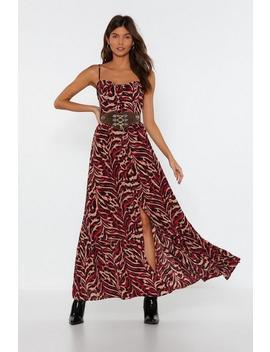 tiger-print-maxi-dress by nasty-gal