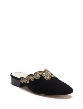 Fortune Suede Slip On Loafer by Bettye Muller