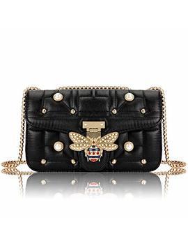 Beatfull Bee Crossbody Bag For Women, Elegant Handbag Shoulder Bag With Pearl Bee Bag by Beatfull