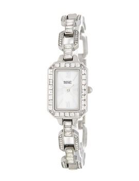 Swarovski Crystal Bracelet Watch, 31mm by Badgley Mischka