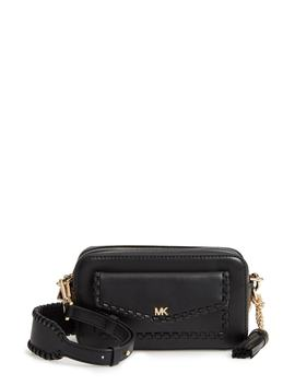 Small Leather Camera Bag by Michael Michael Kors