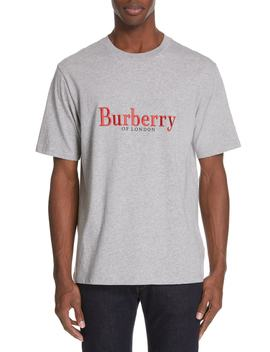 Lopori Logo T Shirt by Burberry