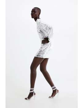 Sequin Mini Dress  New Inwoman by Zara