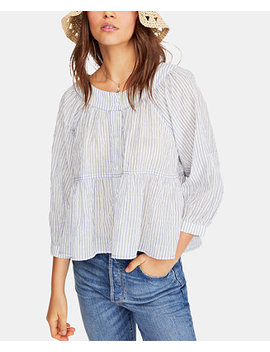 Sea To Shore Striped Top by Free People